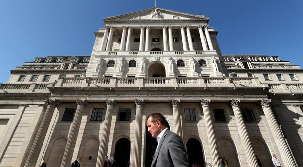 The Bank of England's Monetary Policy Committee warned previously of the damage being inflicted by 'entrenched' Brexit uncertainty (Yui Mok/PA)