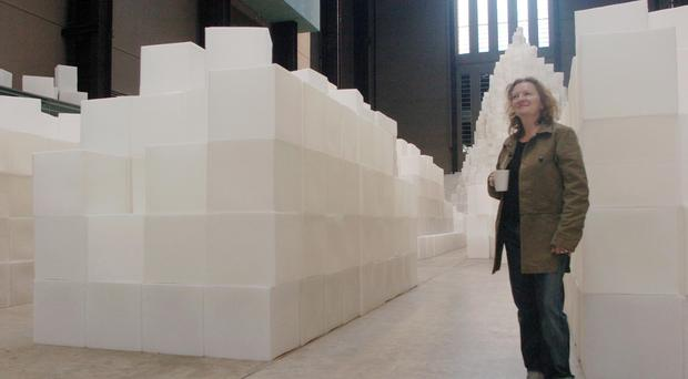 Turner Prize-winning artist Rachel Whiteread will be made a dame (Johnny Green/PA)