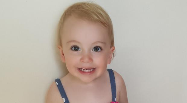 Two-year-old Myla Deviren died of a twisted bowel on August 27 2015. A coroner has called for changes to the NHS 111 and out of hours services following her death. (Irwin Mitchell/ PA)