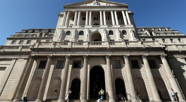 The Bank of England (PA)