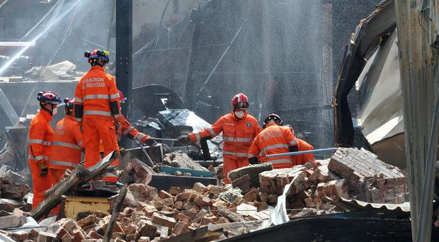 Four people died in the explosion (Chris Neil/Sunday Telegraph/PA)