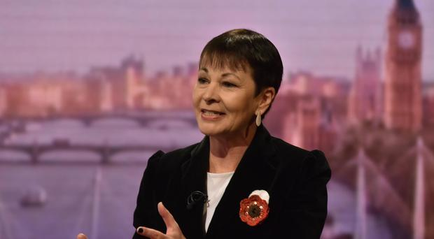 The Green Party's Caroline Lucas (Jeff Overs/BBC)
