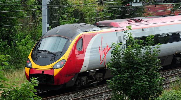 Virgin Trains has reported a growth in demand for its Anglo-Scottish services (Rui Vieira/PA)