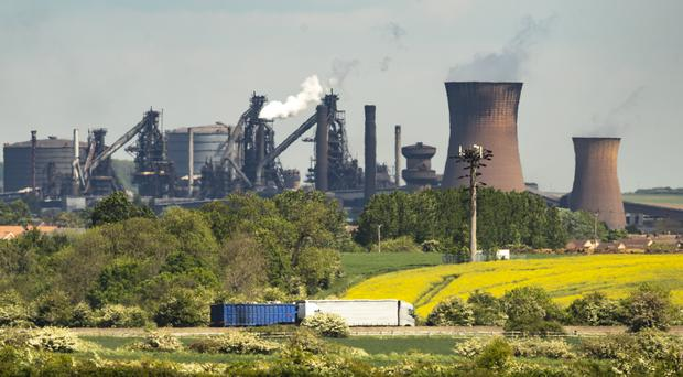 The Scunthorpe steelworks plant could be saved, thanks to an offer from a Chinese industrial firm (Danny Lawson/PA)