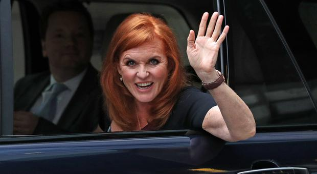 Sarah, Duchess of York (Jonathan Brady/PA)