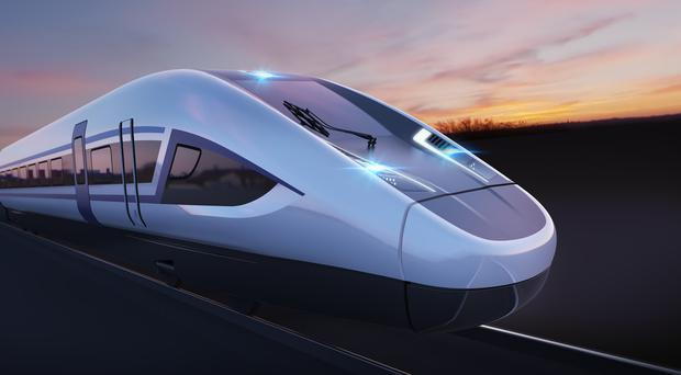 Phase 1 of HS2 is planned to run between London and Birmingham (Siemens/PA)