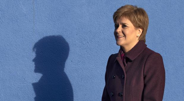 Nicola Sturgeon called on Westminster to take radical action to tackle climate change (Jane Barlow/PA)