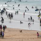 70% of England's beaches, including Woolacombe, North Devon, were rated excellent in 2019 (Ben Birchall/PA)