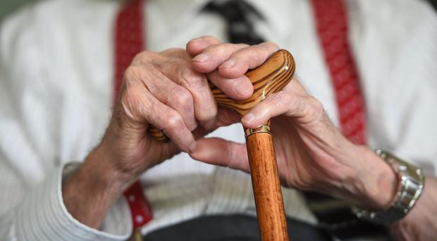 The study looked at 983 people with an average age of 77 (Joe Giddens/PA)