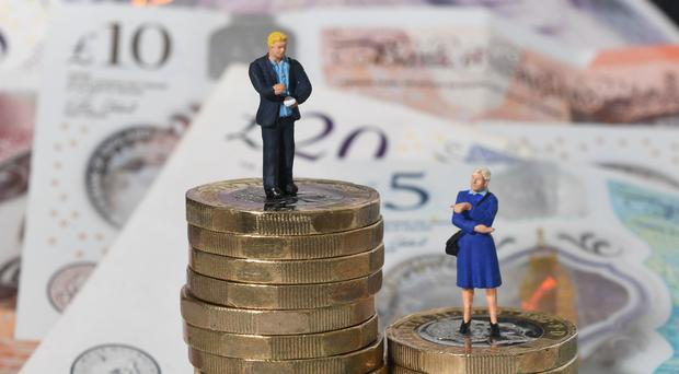 Labour said it would close the gender pay gap by 2030 (Joe Giddens/PA)