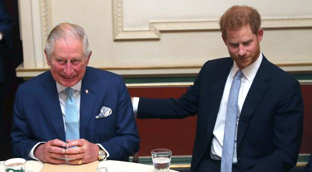Prince of Wales and the Duke of Sussex (Steve Parsons/PA)
