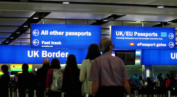 Immigration is emerging as a key election issue (PA)