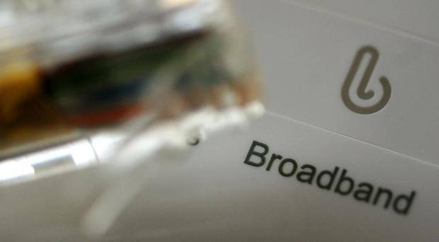 The UK has a poor record on full-fibre broadband (Rui Vieira/PA)