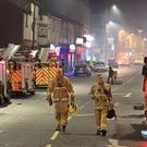 Fire crews are tackling a blaze in Bolton (Steve Parsons/PA)