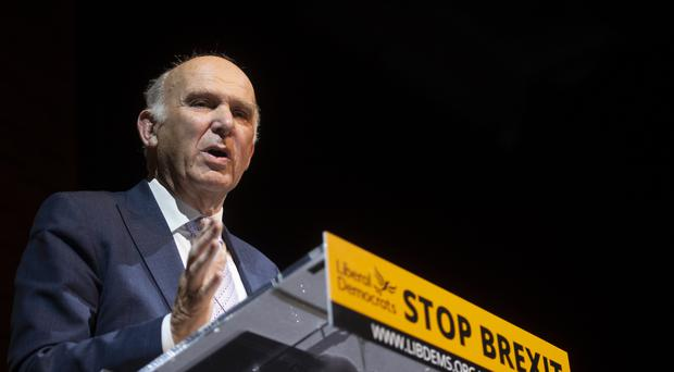 Vince Cable has predicted another General Election (David Mirzoeff/PA)