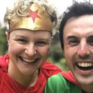 Anna McNuff with partner Jamie McDonald, a fellow adventurer (Jamie McDonald/PA)