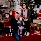 The late Barry McQuaid with his wife Edel and children Tommy, Tess and Sadie