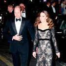 The Duke and Duchess of Cambridge arrive at the London Palladium for the Royal Variety Performance.