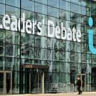 ITV Studios at MediaCityUK in Salford Quays, Greater Manchester, where the live TV leaders' debate will take place (Chris Radburn/PA)