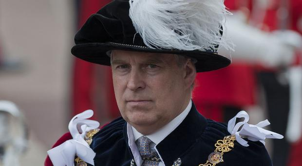 The Duke of York said he has no recollection of meeting Virginia Giuffre (Will Oliver/PA)
