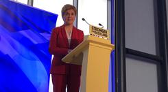 The First Minister said 'charlatans' who supported Brexit had not laid out plans for a future deal with the EU (Craig Paton/PA)