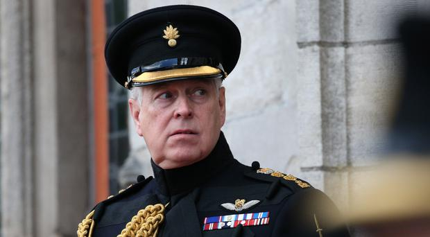The Duke of York will step back from public duties (Jonathan Brady/PA)