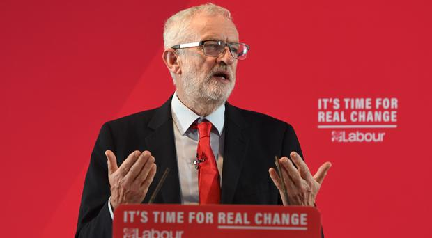 Labour Party leader Jeremy Corbyn is to unveil his party's manifesto on Thursday (Joe Giddens/PA)