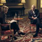 The Duke of York was interviewed by BBC Newsnight's Emily Maitlis (Mark Harrison/BBC/PA)