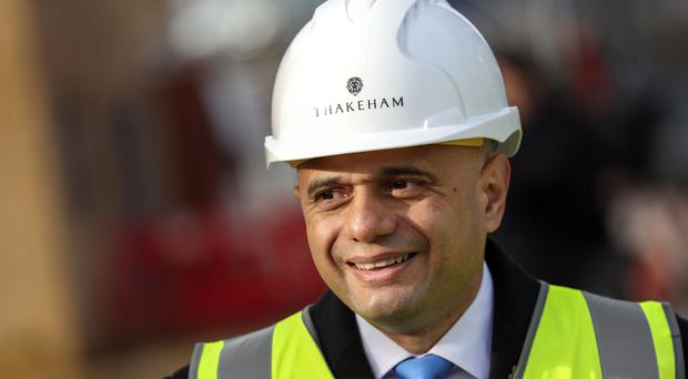 Sajid Javid is willing to borrow as much as £20 billion to pay for infrastructure upgrades (Steve Parsons/PA)