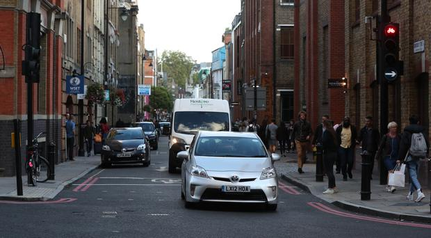The Ultra Low Emission zone introduced earlier this year in London has already impacted air pollution (Jonathan Brady/PA)