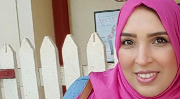 Asma Shuweikh has been hailed a hero for confronting a man directing anti-Semitic abuse towards Jewish children on the Tube (Family handout/PA)