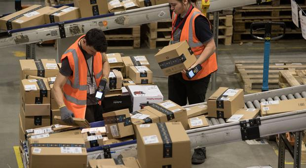 Scots paid an estimated £40.1 million extra in delivery charges relativve to the UK as a whole (Aaron Chown/PA)