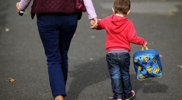 A think tank has warmed of increasing levels of child poverty regardless of who wins the General Election (Brian Lawless/PA)