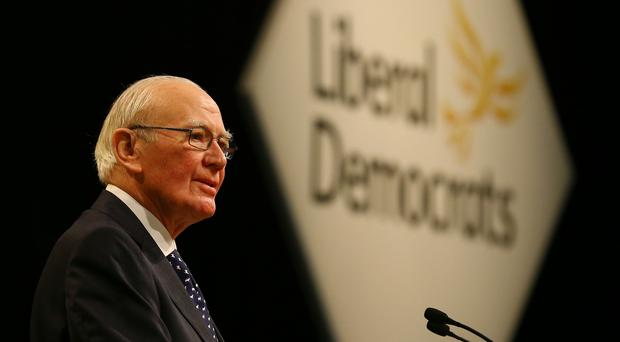 Lord Menzies Campbell is urging voters to help the Liberal Democrats win back the former seat of Charles Kennedy (Gareth Fuller/PA)