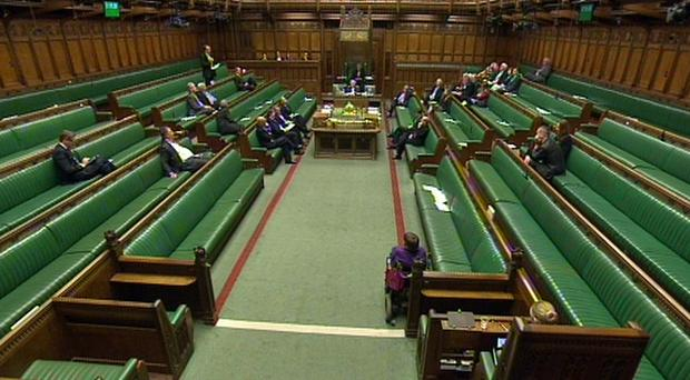 A sparsely attended Commons debate (PA)
