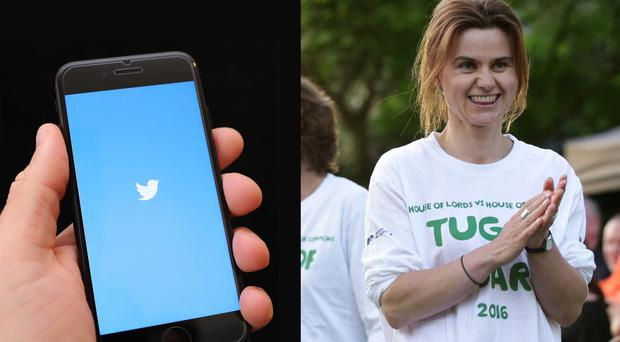 Jo Cox's widower has expressed relief at Twitter's decision not to delete inactive accounts belonging to the deceased (Yui Mok/Andrew Matthews/PA)