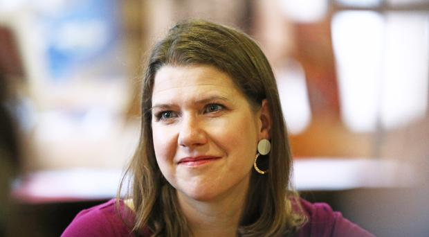 Liberal Democrat leader Jo Swinson has spoken about her father's support in her political career (Aaron Chown/PA)