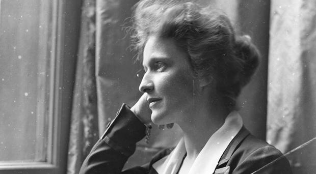 Nancy Astor was the first woman to take her seat in the Commons (Olive Edis/PA)