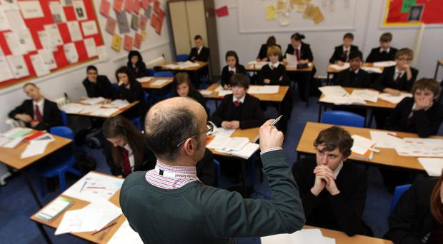 New government figures show teacher training targets have been missed (David Davies/PA)