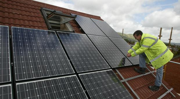 Labour says one million new green jobs will be distributed across each English region (Niall Carson/PA)