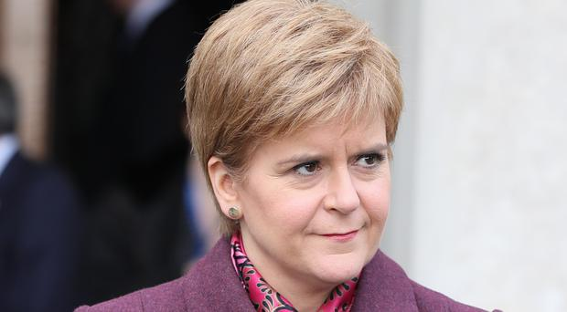 Scottish First Minister Nicola Sturgeon said there is a debate to be had about the future of the monarchy (Brian Lawless/PA)