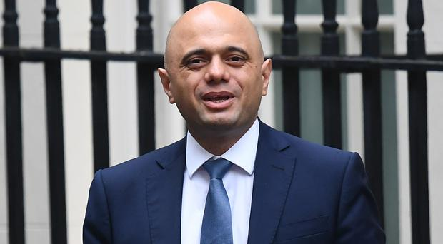 Chancellor of the Exchequer Sajid Javid (Victoria Jones/PA)