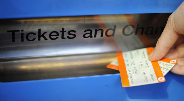 Average rail fares increased in real terms by 21% between January 1995 and January 2019, Office of Rail and Road figures show (Lauren Hurley/PA)