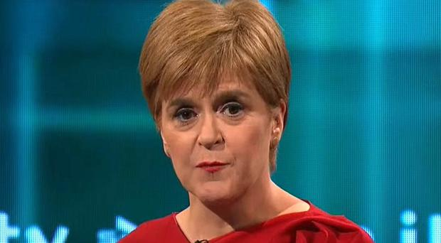 Nicola Sturgeon argued that Scotyland scrapping automatic releases for serious offenders was the 'right' policy when discussing the London attack (ITV/PA Wire)