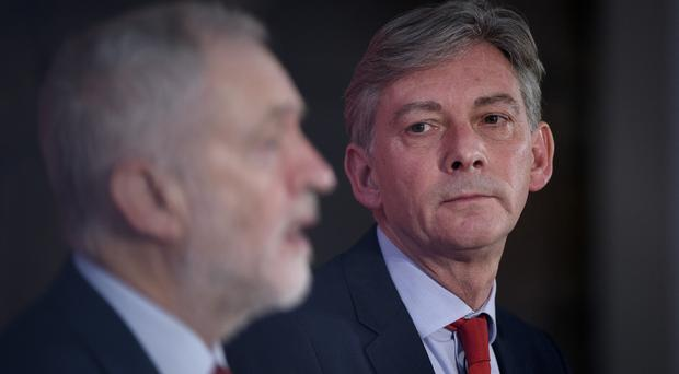 UK polls in recent days have showed the Labour vote rising (John Linton/PA)