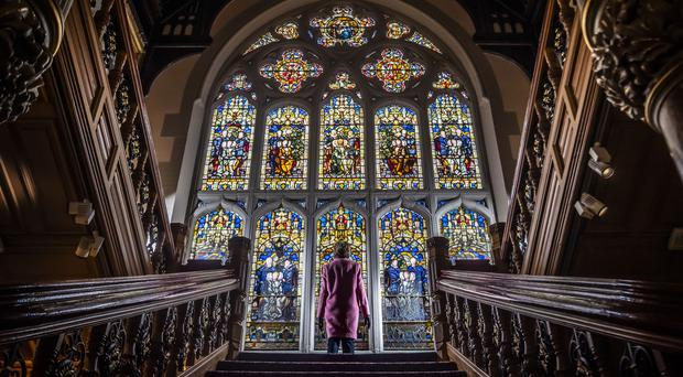 The Butterfield Window at Cliffe Castle in Keighley (Danny Lawson/PA)