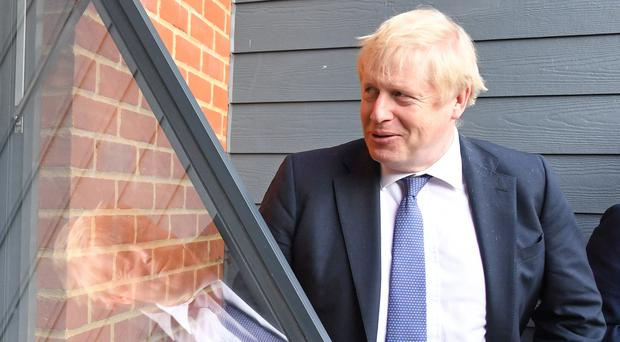 Boris Johnson will be back on the election campaign trail (Stefan Rousseau/PA)