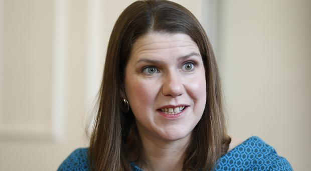 Leader of the Liberal Democrats Jo Swinson will speak at a rally in Edinburgh (Hollie Adams/PA)
