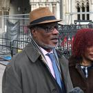 Winston Trew and his wife Hyacinth, outside the Royal Courts of Justice (Sam Tobin/PA)