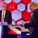 The two top contenders to lead the nation clashed in the BBC debate (PA/BBC)